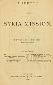 Cover of: Historical sketches of the missions under the care of the Board of Foreign Missions of the [Presbyterian Church] by Woman's Foreign Missionary Society of the Presbyterian Church 