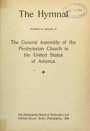 Cover of: The Hymnal by Presbyterian Church in the U.S.A.