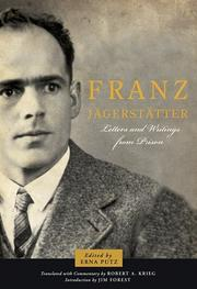 Cover of: Letters and writings from prison | Franz Jägerstätter