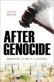 Cover of: After genocide | Adam M. Smith
