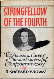 Cover of: Stringfellow of the Fourth | R. Shepard Brown