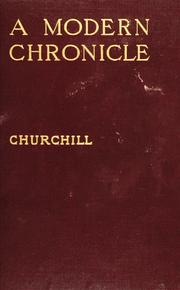 Cover of: A Modern Chronicle by Winston Churchill