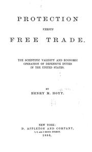 Cover of: Protection versus free trade by Henry Martyn Hoyt