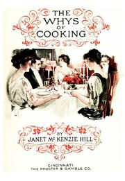 Cover of: The whys of cooking | Janet McKenzie Hill
