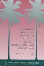 Cover of: Language Learning Strategies Around the World by Rebecca L. Oxford