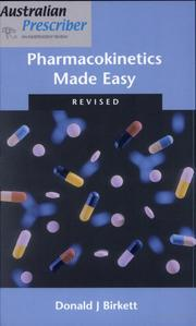 Cover of: Pharmacokinetics made easy by Donald J. Birkett
