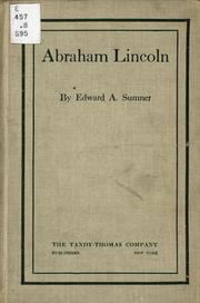 Cover of: Abraham Lincoln | Edward Arthur Sumner