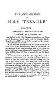 "Cover of: The commission of H.M.S ""Terrible"", 1898-1902 by George Crowe"