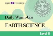 Cover of: Daily Warm-ups For Earth Science (Daily Warm-Ups Science Series Ser) by Robert G. Hoehn