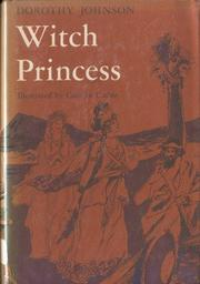 Cover of: Witch princess by Dorothy M. Johnson