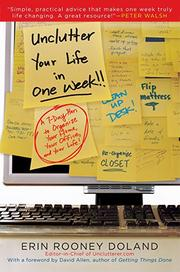 Cover of: Unclutter your life in one week | Erin Rooney Doland