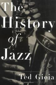 Cover of: The history of jazz | Ted Gioia