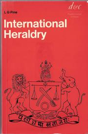 Cover of: International heraldry by Leslie Gilbert Pine