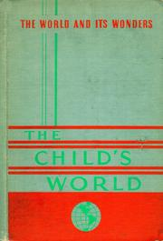 Cover of: The Child's World | Margaret McKown Stephens