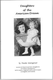 Cover of: Daughters of the American dream | Paula Giangreco