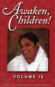 Cover of: Awaken Children, Volume 9 by Mata Amritanandamayi
