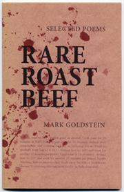 Cover of: Rare Roast Beef | Mark Goldstein