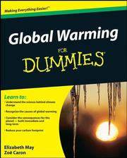 Cover of: Global Warming For Dummies (For Dummies (Math & Science)) | Elizabeth May