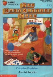 Kristy for President (The Baby-Sitters Club #53)