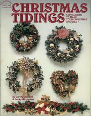 Cover of: Christmas tidings | Candy Cloward, Becky Jorgensen