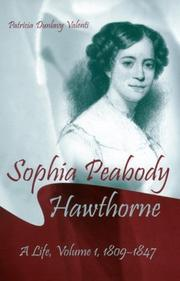 Cover of: Sophia Peabody Hawthorne by Patricia Dunlavy Valenti