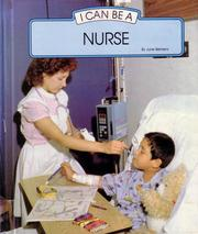 Cover of: I Can Be a Nurse | June Behrens