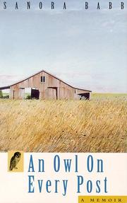 Cover of: An owl on every post by Sanora Babb
