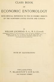 Cover of: Class book of economic entomology | William Lochhead