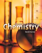 Cover of: Modern Analytical Chemistry | David T Harvey