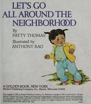 Cover of: Let's go all around the neighborhood by Thomas, Patricia