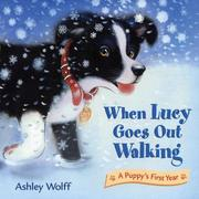 Cover of: When Lucy goes out walking by Ashley Wolff