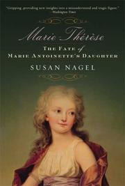 Cover of: Marie-Therese | Susan Nagel