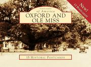 Cover of: Oxford and Ole Miss (Postcard of America) (Postcards of America) by Jack Lamar Mayfield