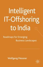 Cover of: Intelligent IT-Offshoring to India | Wolfgang Messner