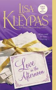 Cover of: Love In The Afternoon (Hathaways) | Lisa Kleypas
