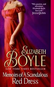 Cover of: Memoirs of a Scandalous Red Dress by Elizabeth Boyle