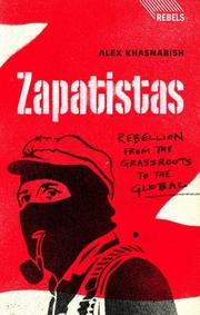 Cover of: Zapatistas | Alex Khasnabish