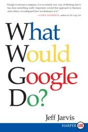 Cover of: What Would Google Do? LP by Jeff Jarvis