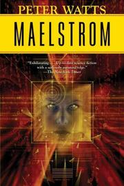 Cover of: Maelstrom | Peter Watts
