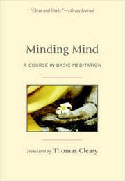 Cover of: Minding Mind by Thomas Cleary