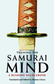 Cover of: Training the Samurai Mind | Thomas Cleary