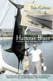 Cover of: Hatteras Blues by Tom Carlson