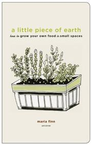 Cover of: A Little Piece of Earth by Maria Finn