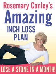 Cover of: Rosemary Conley's Amazing Inch Loss Plan by Rosemary Conley