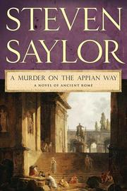 Cover of: A Murder on the Appian Way by Steven Saylor
