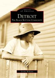 Cover of: Detroit: | Jeremy Williams