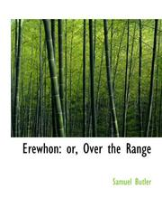 Cover of: Erewhon by Samuel Butler