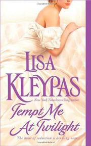 Cover of: Tempt Me at Twilight (Hathaways, Book 3) | Lisa Kleypas