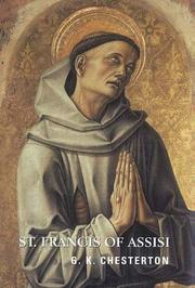 Cover of: St. Francis of Assisi (Contemporary Christian Insights) | G. K. Chesterton