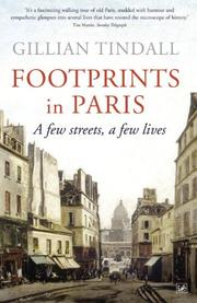 Cover of: Footprints in Paris by Tindall, Gillian.